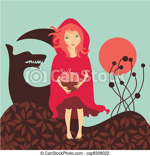 Red Riding Hood - csp8308022