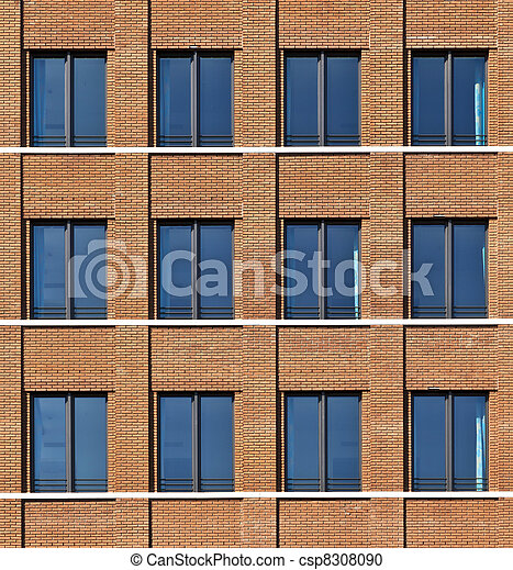 Photographies de fa ade de moderne bulding fenetres for Fenetre facade