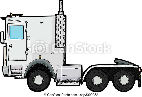 Big Truck - csp8309252