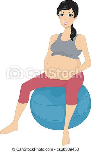 Exercise Ball - csp8309450