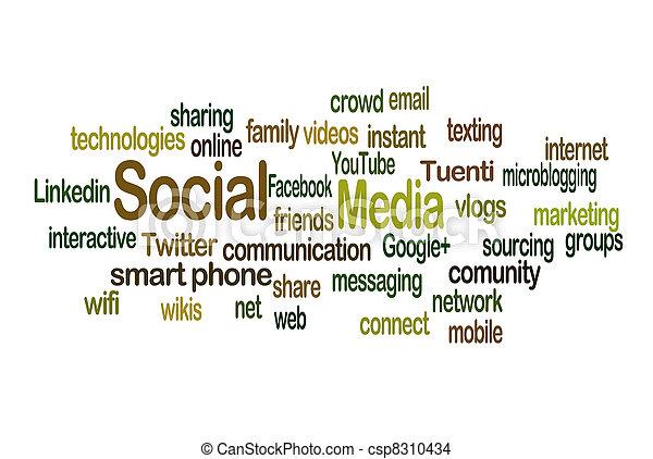 Social Media - csp8310434