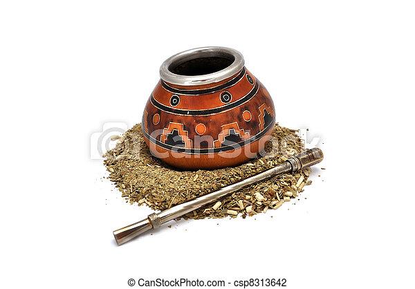 Yerba Mate tea - csp8313642