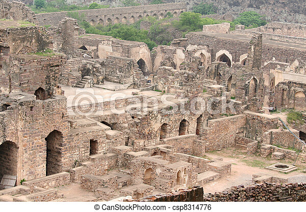 Golkonda fort - csp8314776