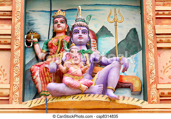 Hindu gods - csp8314835