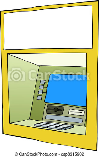 Cash machine - csp8315902