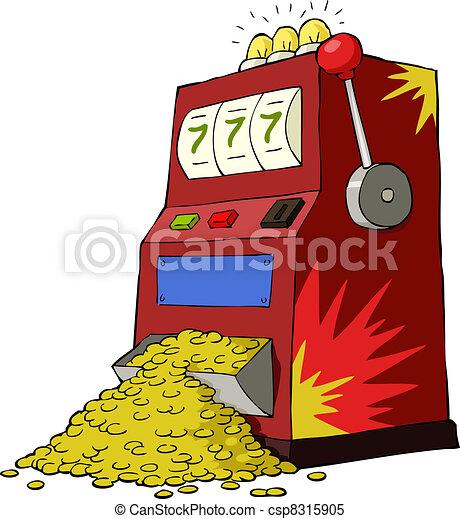 Gambling machine - csp8315905