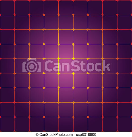 Abstract background with squares - csp8318800