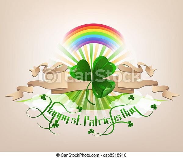 Happy st. Patrickes Day - csp8318910