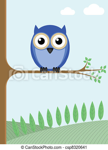 Owl - csp8320641