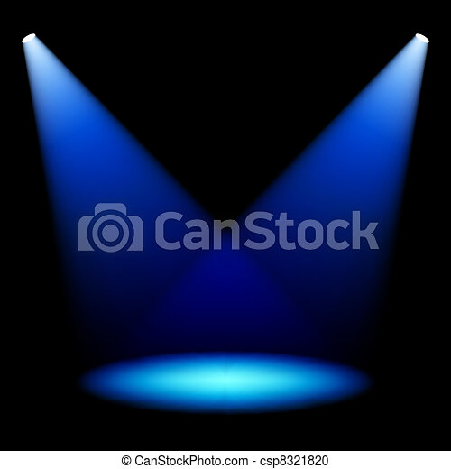 Stage spotlights - csp8321820
