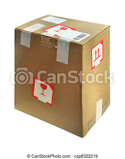 Cardboard box - csp8322219