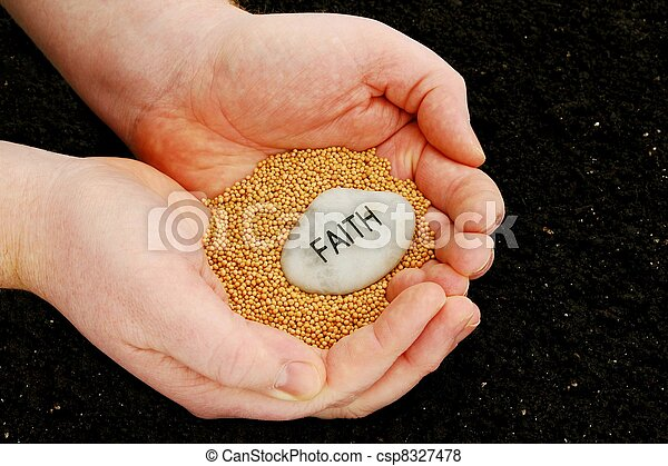 Planting Seeds of Faith - csp8327478