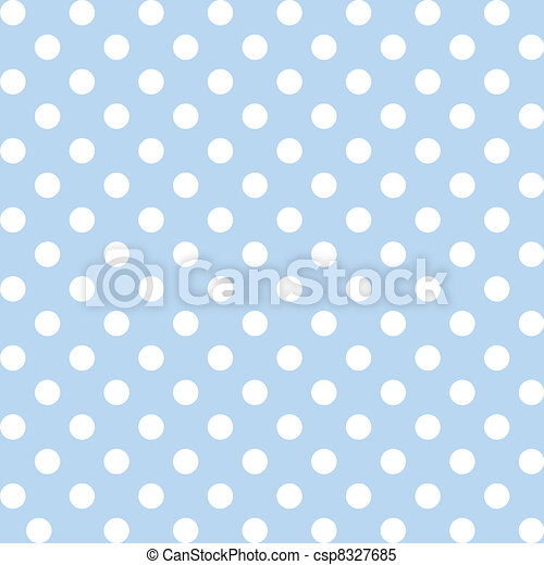 Polka Dots, Pastel Seamless Pattern - csp8327685
