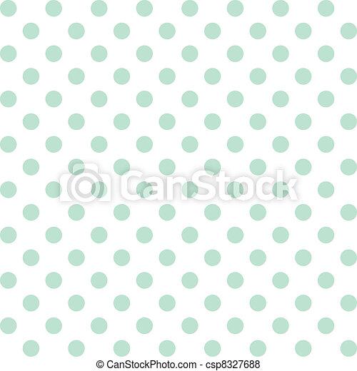 Polka Dots, Pastel Seamless Pattern - csp8327688