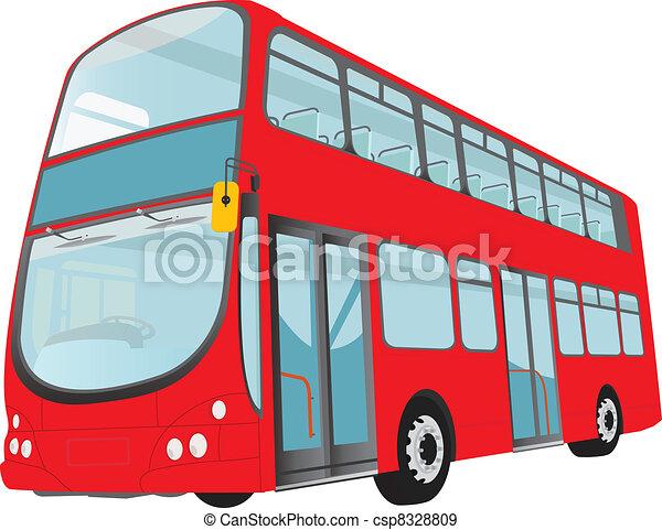 London Bus - csp8328809