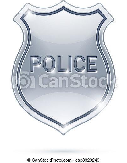 police badge - csp8329249