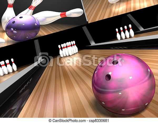 bowling for a strike - csp8330681