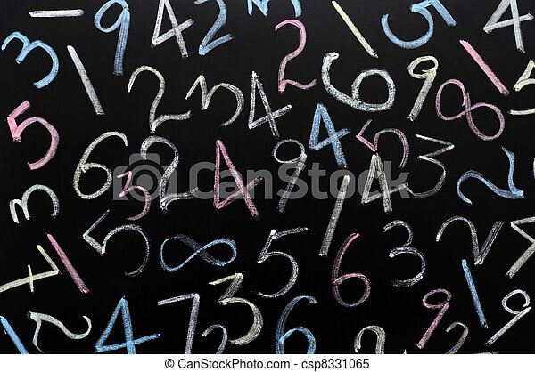 Random numbers background - csp8331065