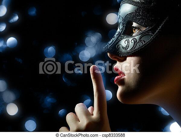 masquerade mask - csp8333588