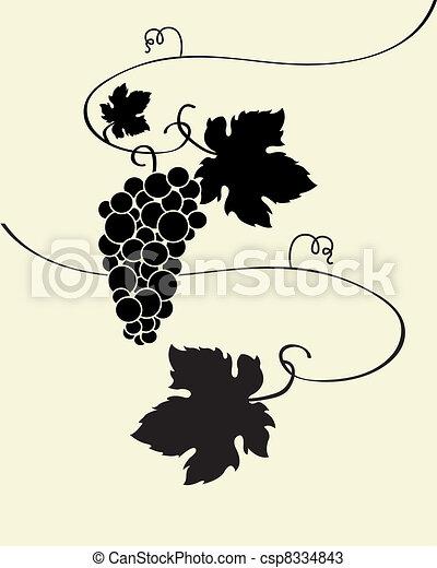 Wild Grapes  - csp8334843