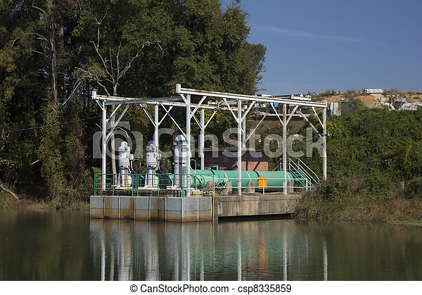 utility pumping station - csp8335859