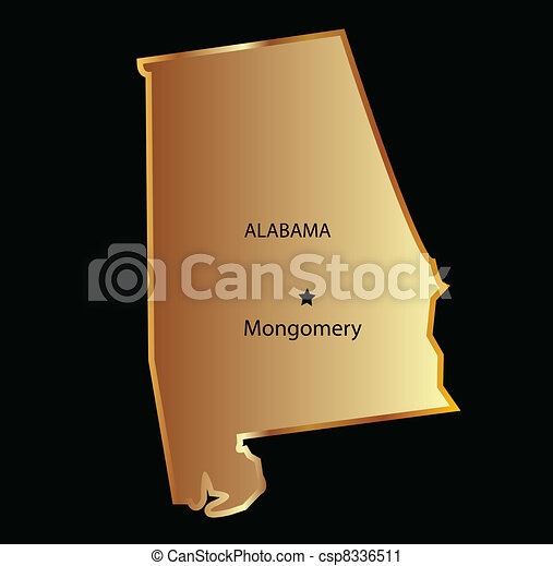 Alabama state usa - csp8336511