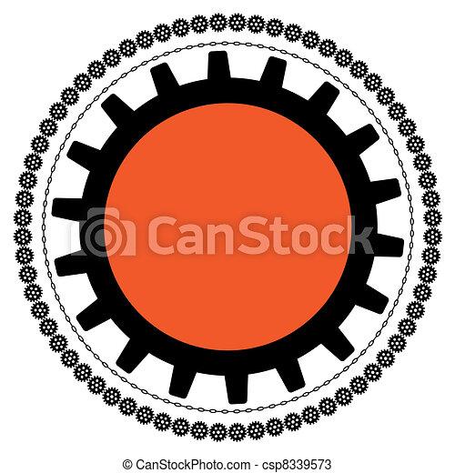 gears frame - csp8339573
