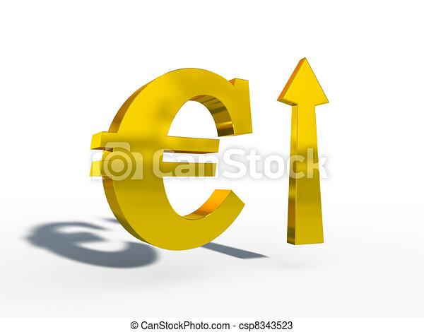 euro up down course 3d cg - csp8343523