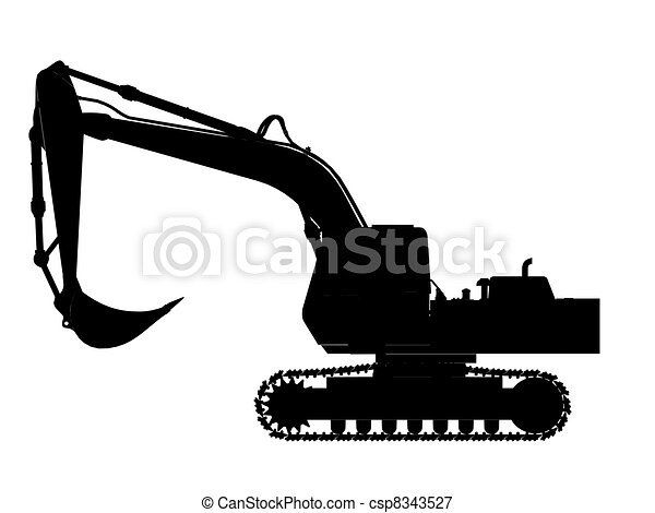Excavator Stock Illustration Images. 5,565 Excavator illustrations ...