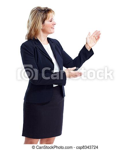 Executive business woman. - csp8343724