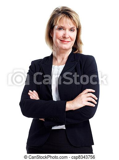 Executive business woman. - csp8343756