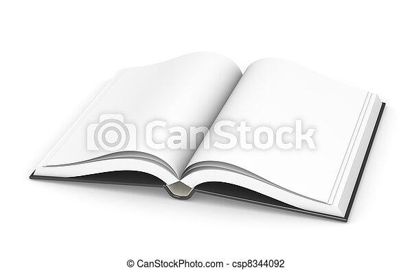 Open Book, Sparse. - csp8344092