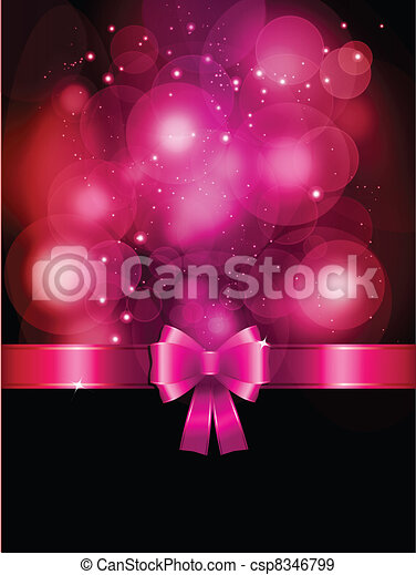 Valentines Day background - csp8346799