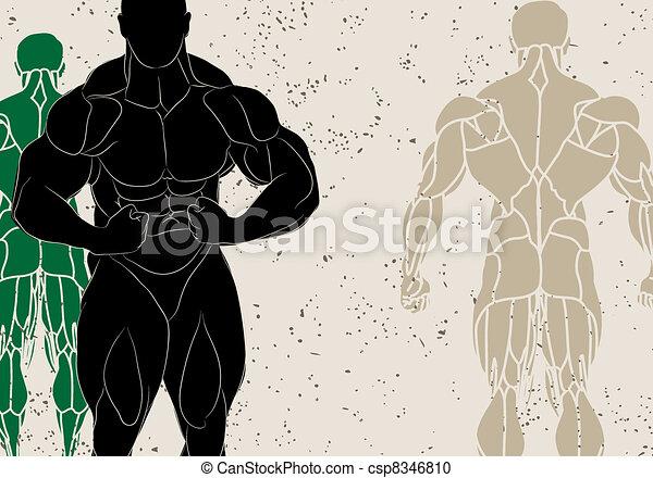 strong man - csp8346810