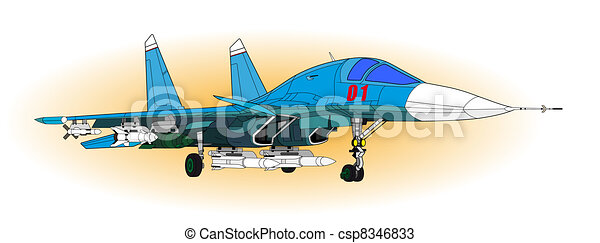 Fighter aircraft - csp8346833