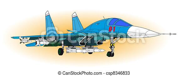 Fighter aircraft - csp8346833