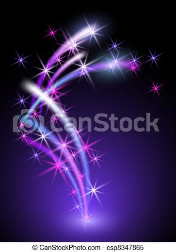 Neon background - csp8347865