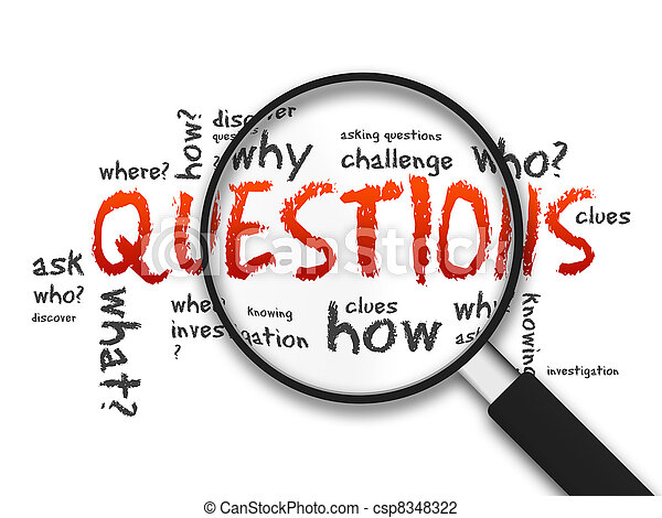 Magnifying Glass - Questions - csp8348322
