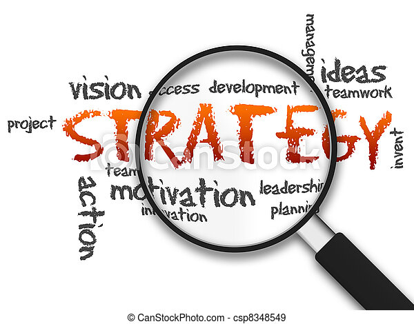 Magnifying Glass - Strategy - csp8348549
