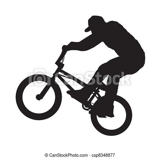 BMX Rider - csp8348877