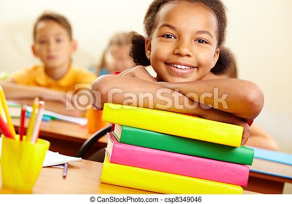 Youthful reader - csp8349046
