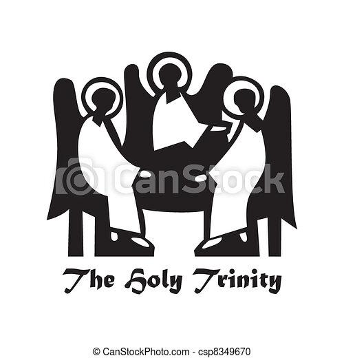 The-Holy-Trinity - csp8349670