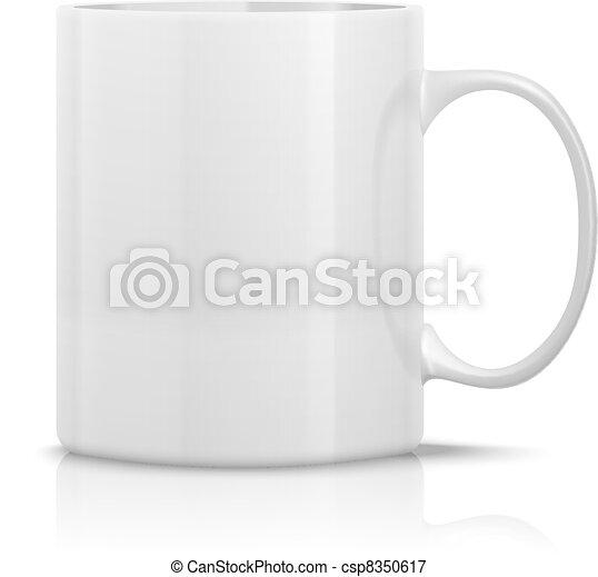 white mug - csp8350617
