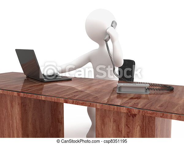 Character secretary - csp8351195