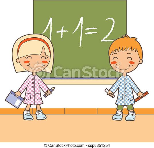 Vetor escola matem tica classe estoque de ilustra o for Sala de estar 3x5