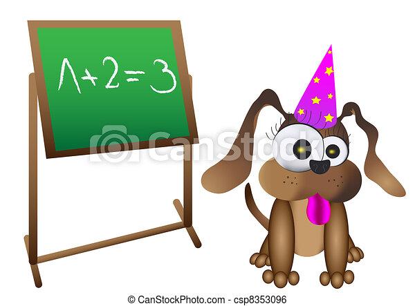 smart dog - csp8353096