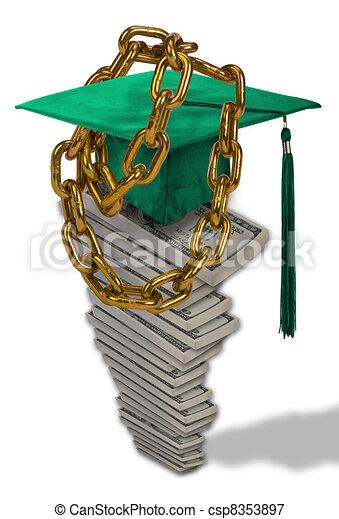 Student Loan Debt. - csp8353897