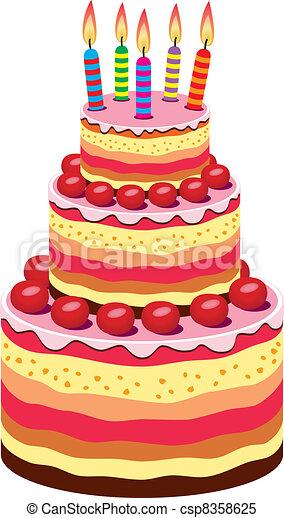 Free Vector Birthday Cake Icon