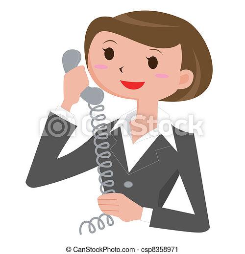 Woman who calls - csp8358971