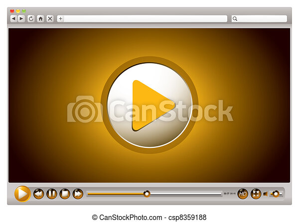 Internet video browser controls - csp8359188